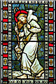 TM2787 : All Saints church in Alburgh - stained glass window : Week 12
