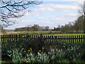 SP2472 : Honiley Hall from Honiley churchyard by Robin Stott