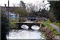 SU4090 : Footbridge over Letcombe Brook by Steve Daniels