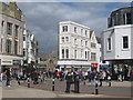 TQ8109 : Hastings Town Centre by Oast House Archive