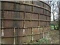 SJ9483 : Water tank at Hilltop Farm by Alan Murray-Rust