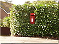 SZ0096 : Broadstone: postbox № BH18 21, Lower Golf Links Road by Chris Downer