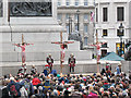 TQ3080 : Trafalgar Square passion play: the Crucifixion by Stephen Craven