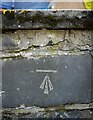 J5979 : Bench Mark, Donaghadee by Rossographer