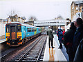SE1422 : Rush hour at Brighouse station by Stephen Craven