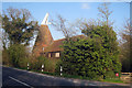 TQ8329 : Great Jobs Cross Oast House, Hastings Road, Rolvenden, Kent by Oast House Archive