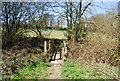 TQ7436 : Footbridge on the High Weald Landscape Trail by N Chadwick