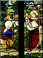 TF7815 : The church of All Saints in West Acre - stained glass by Evelyn Simak