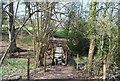TQ7038 : Footbridge, High Weald Landscape Trail, Rectory Park by N Chadwick