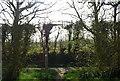 TQ6841 : High Weald Landscape Trail meets Palmer's Green Lane by N Chadwick