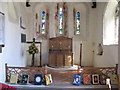 SU7897 : Altar of St Mary's Radnage by David Hawgood