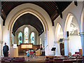 TQ2168 : Christ Church, New Malden: interior by Stephen Craven