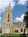 TF5617 : All Saints church in Tilney All Saints by Evelyn Simak