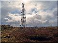 NG4540 : Telecommunication tower on Skriaig : Week 17