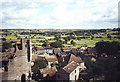 SE1287 : Middleham village centre from the castle by nick macneill