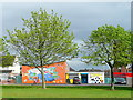 SK5505 : New Parks Boys' Club, Leicester by Jonathan Billinger