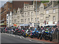 TQ8209 : Motorbikes on Pelham Place by Oast House Archive