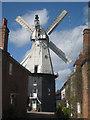 TQ7735 : Cranbrook Union Windmill, Russells Yard, Cranbrook, Kent by Oast House Archive