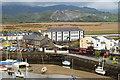 SH5738 : Ffestiniog Railway Harbour Station, Gwynedd by Peter Trimming