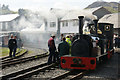 SH5738 : Porthmadog Railway Station by Mike Pennington