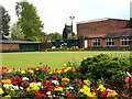 SJ7560 : Sandbach Park: bowling green by Stephen Craven