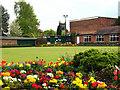 SJ7560 : Sandbach Park: bowling green by Stephen Craven