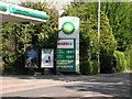 TL4260 : Petrol prices on Huntingdon Road by Keith Edkins