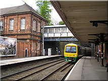 SP1196 : Redditch train, Sutton Coldfield station by Robin Stott