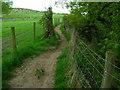 SD7913 : Footpath by River Irwell by John Darch