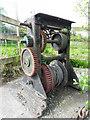 H3617 : Winding gear, Ducking Stool Jetty, Belturbet by Kenneth  Allen