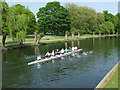 TL0549 : Rowers on the Great Ouse by Thomas Nugent
