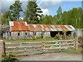 NH3956 : Old buildings at Scatwell : Week 20