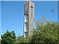 TQ3579 : Tower of the Finnish Church in Rotherhithe by Stephen Craven