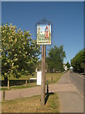 TQ8028 : Sandhurst Village Sign by David Anstiss