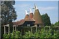 TQ6342 : Downingbury Farm Oast, Maidstone Road, Pembury, Kent by Oast House Archive