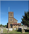 TF6422 : St Mary's church in South Wootton by Evelyn Simak