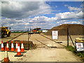 SU1490 : Blunsdon by-pass site office site, Blunsdon (3) by Brian Robert Marshall