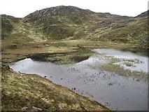 NM5867 : Lochan Clach na Boiteig by Chris Wimbush