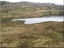 NM5963 : Lochan nan Caorach by Chris Wimbush