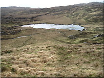 NM5965 : Lochan west of Leac Shoilleir by Chris Wimbush
