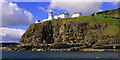 J4893 : The Blackhead lighthouse, Whitehead (4) by Albert Bridge