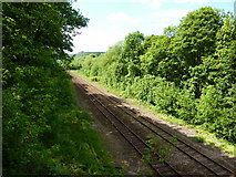 SE0026 : Hebden Bridge to Mytholmroyd railway by Alexander P Kapp