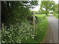 TR0435 : Saxon Shore Way on Priory Road near Priory Wood by David Anstiss