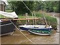 SX4268 : Boats at Cotehele Quay by Derek Harper
