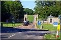 SP6636 : The entrance to Stowe School by Steve Daniels