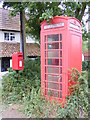 TM3372 : The Street Postbox & Telephone Box by Adrian Cable