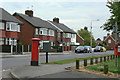 SK5348 : Occupation Road postbox Ref No NG15 6 by Alan Murray-Rust