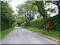 TM2364 : Bedfield Road & Town Corner Postbox by Adrian Cable