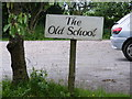 TM2665 : The Old School Sign by Adrian Cable