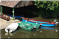 SP2864 : Boathouse at Warwick : Week 24